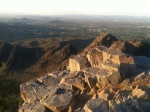 After the shoot, got to climb Squaw peak in Phoenix.