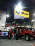 My videos playing at the Bestop booth at SEMA Las Vegas